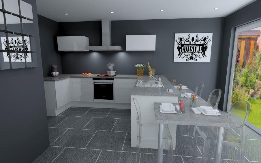 amenager arriere cuisine amnager une grange en lui donnant un air rustique une cuisine avec. Black Bedroom Furniture Sets. Home Design Ideas