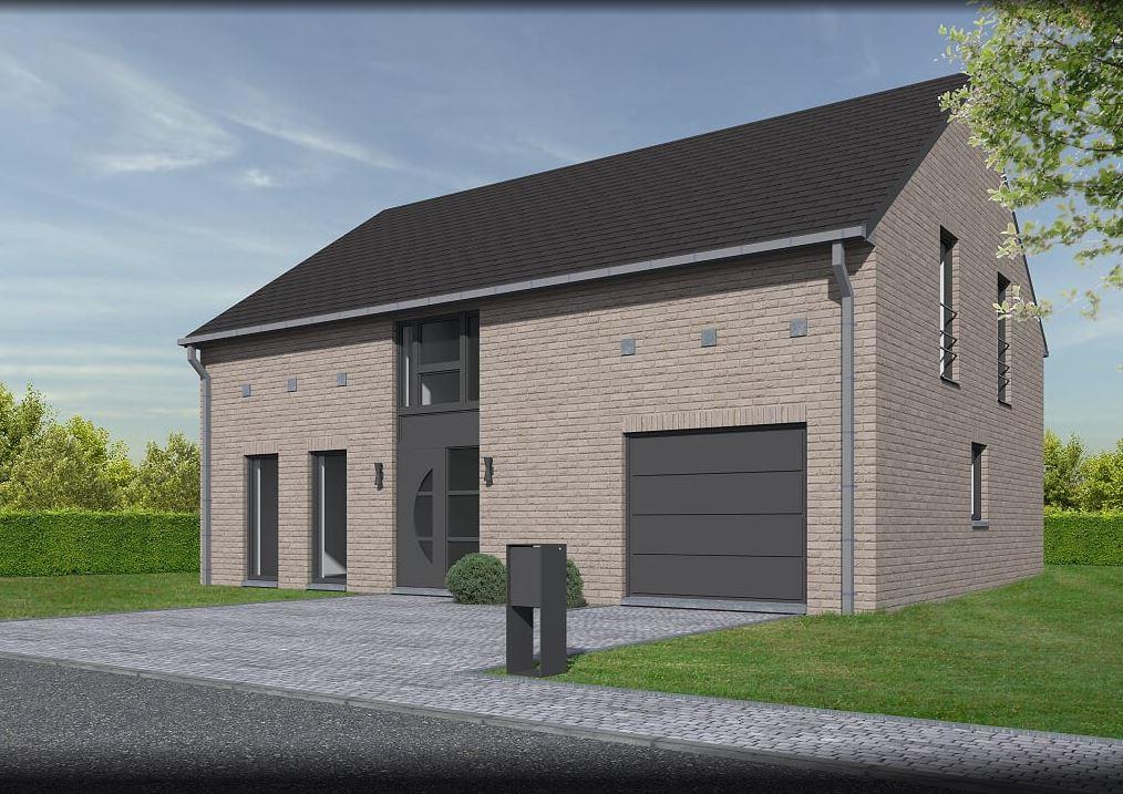 Lhonneux promo lotissement colson maison 4 facades for Facade design maison